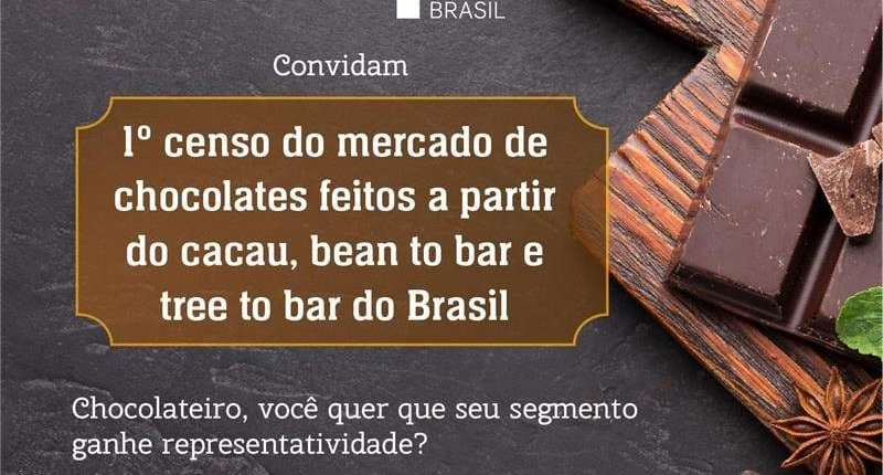 Sebrae e Associação Bean to Bar Brasil realizam o 1° censo do mercado de chocolates da categoria